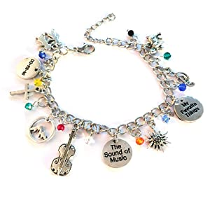 Opera charm bracelet