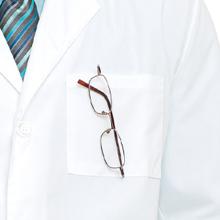 Landau Lab Wear 3132 Men's Lab Coat Full Length Medical Healthcare Uniforms Fashion