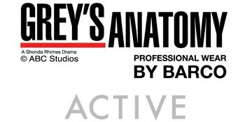 Barco Grey's Anatomy Active Scrubs Medical Healthcare Uniforms Fashion Polyester Rayon