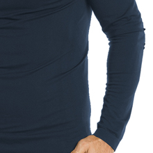 Close-up of the long sleeve of the Barco One 0305 Men's Seamless Scrub Tee