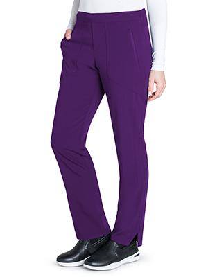 Barco Grey's Anatomy Signature GNP502 Women's Scrub Pant Flat Medical Healthcare Uniforms Fashion