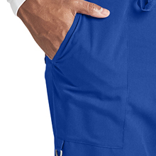 Large front pockets close-up on Barco Grey's Anatomy 0203 Men's Cargo Scrub Pant