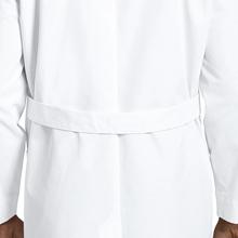 """Loose back belt shown on Barco Uniforms 9599 Men's 37"""" Lab Coat"""