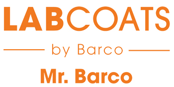 Mr. Barco Lab Coats by Barco Logo