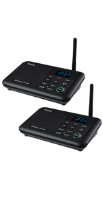 wireless intercom for home 2 stations WL888