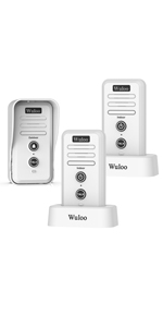wireless interocm doorbell_ring chime white W1T2
