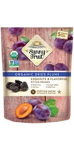 sunny fruit organic dried prunes