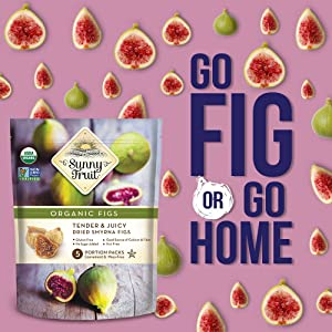 sunny fruit organic dried figs