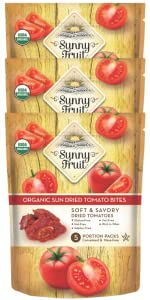 sunny fruit organic sun dried tomatoes