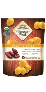 sunny fruit organic dates