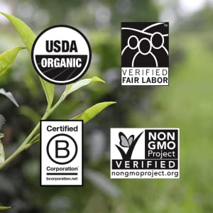 usda certified organic verified fair labor non-gmo b corporation halal kosher