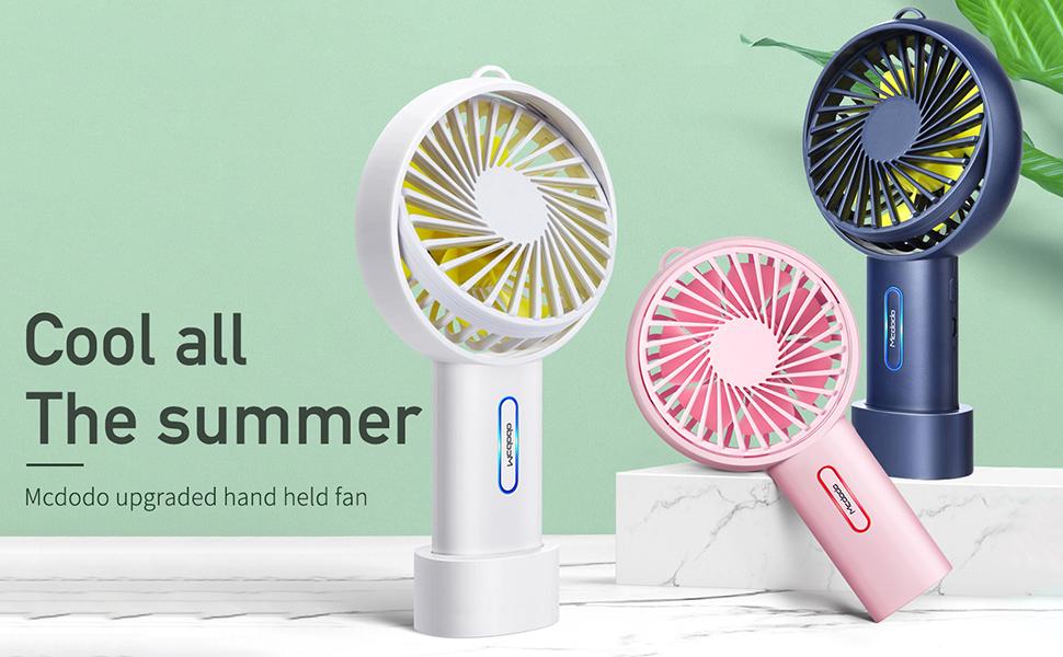 summer mini hand desk fan a gift for boy and girl  summer gift for kid travel fan