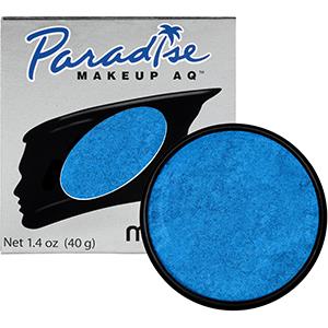 Mehron Makeup Paradise AQ Brillant Azur Dark Blue