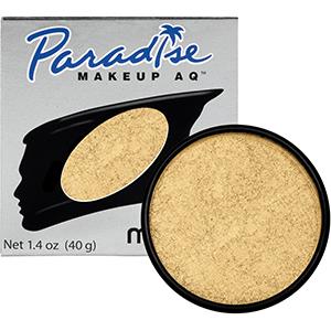 Mehron Makeup Paradise AQ Brillant Gold Dore