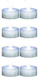 Cold White Tealight Candles