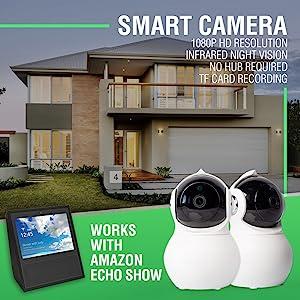 Works with alexa show smart camera