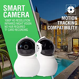 Motion tracking camera capabilities