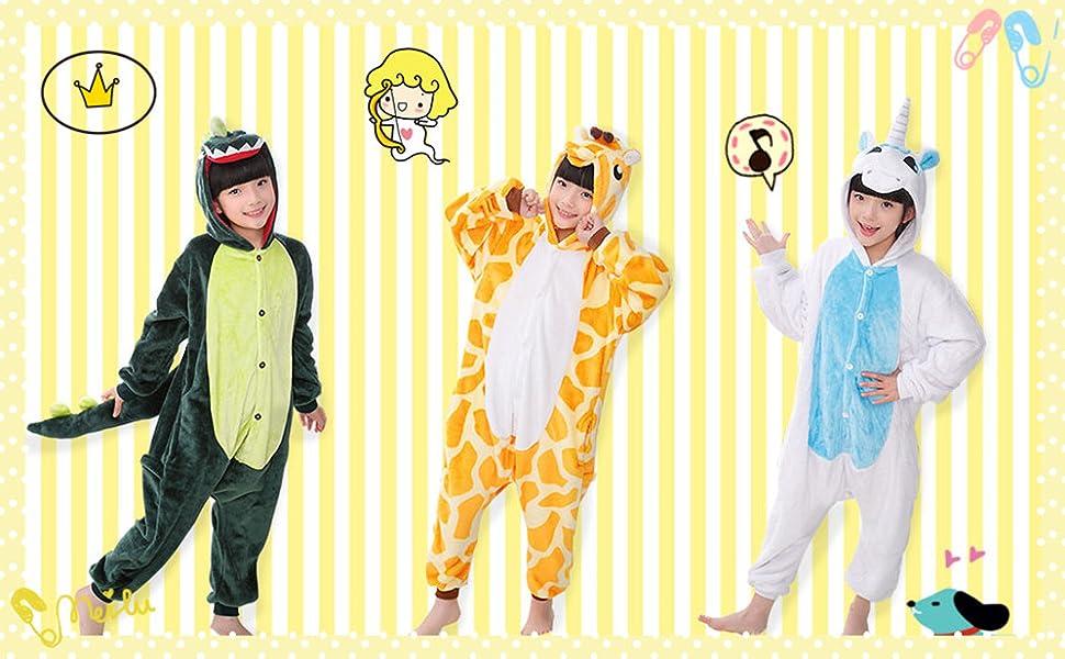 kids animal onesie kigurumi