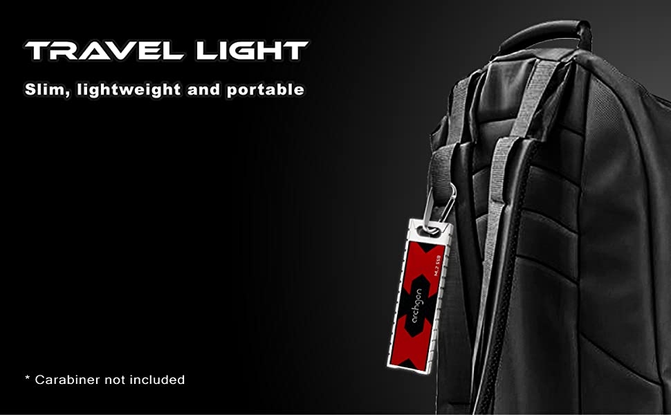 travel light slim lightweight and portable