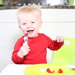 Child with fork