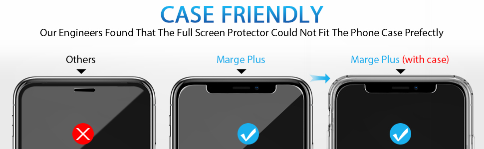 Compatible with iPhone XR Screen Protector