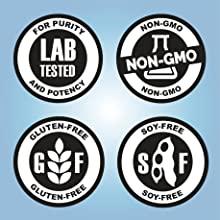 safe and effective gluten free non-gmo