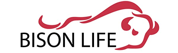 Image of the Bison Life logo
