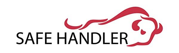 Image of the Bison Life Safe Handler logo with the bison bull.