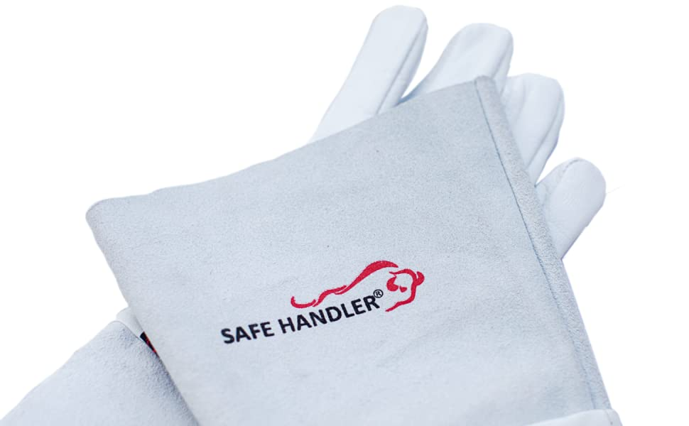 Image of a pair of TIG Safe Handler Welding Gloves.