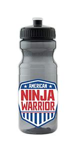 American Ninja Plastic Water Bottle