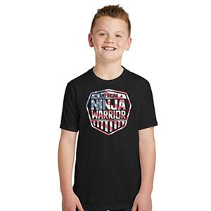 American Ninja Warrior Americana Youth T-Shirt