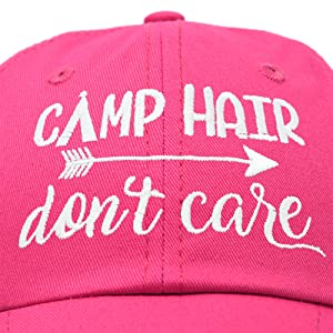 H-201-Camp-Hair Up Close and Quality Stitching