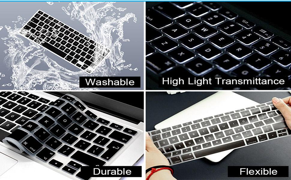 function washable keyboard skin