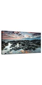 seascape wall art