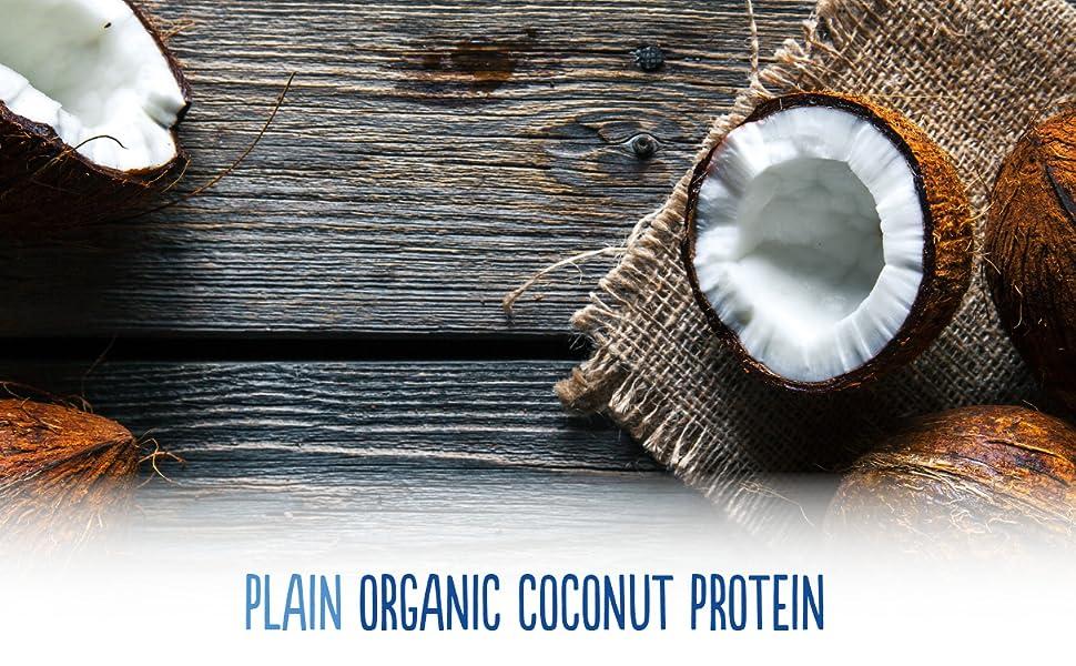 coconut protein plain organic