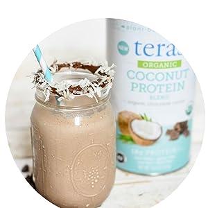 coconut smoothie