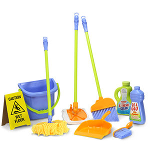 cleaning set contents
