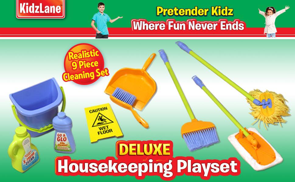 housekeeping cleaning set