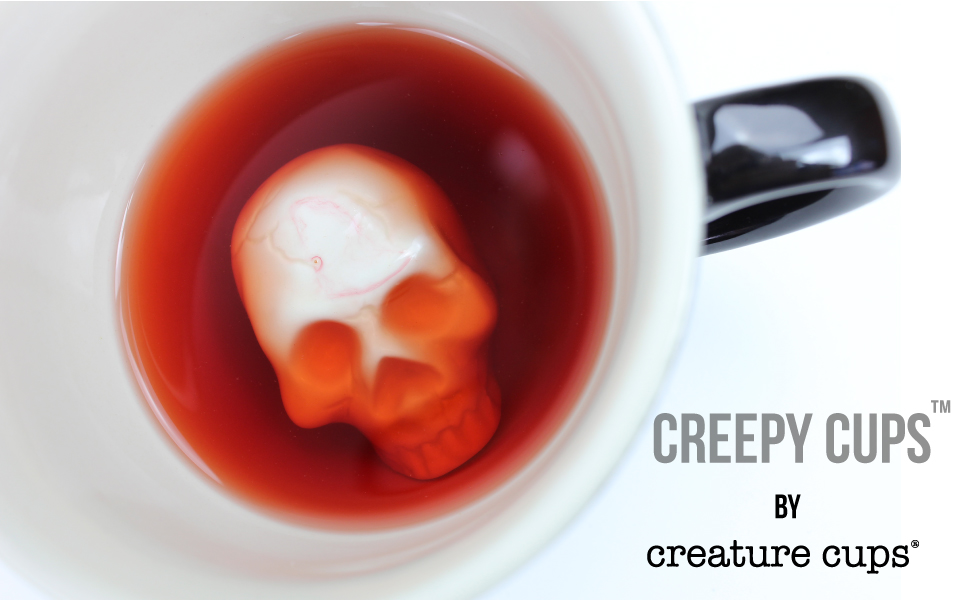 Skull Cup Skull Creature Cup Creepy Cup
