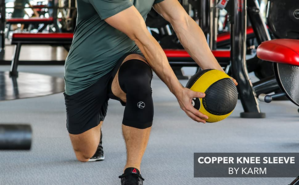 KARM Copper Knee Sleeve knee support