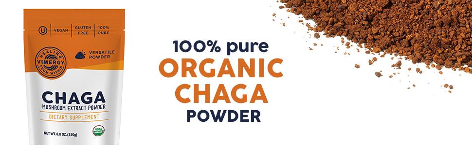 organic, chaga
