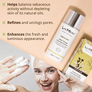 Face Cleanser Facial Wash Foaming Men Man Woman Women Gifts Anti Aging Organic Natural Acne Treat