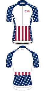 usa flag cycling jersey