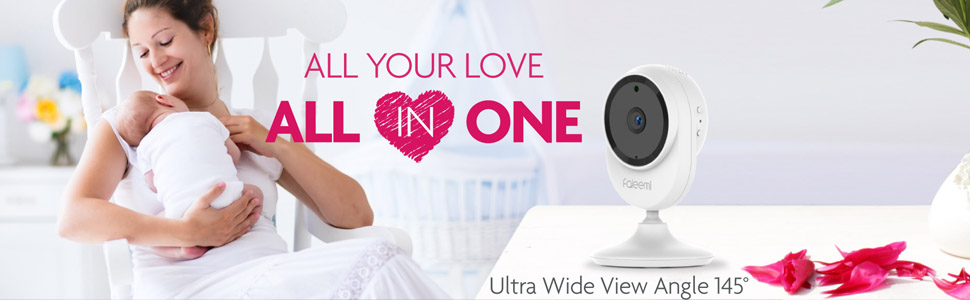faleemi baby camera wireless camera security camera home camera wifi video monitor baby monitor