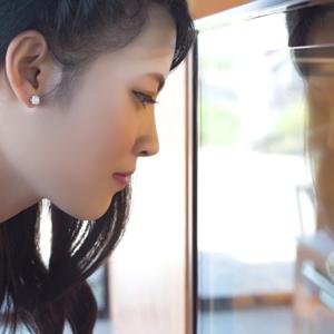 Sterling Silver CZ Cubic Zirconia stud earrings