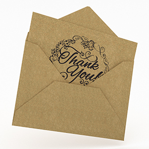 agreatlife thank you card wedding birthday invitation love letter cards with envelope vintage style