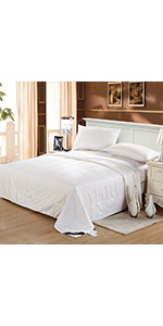 silk duvet washable