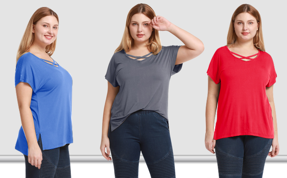 womens shirts wear with leggings, jeans and shorts