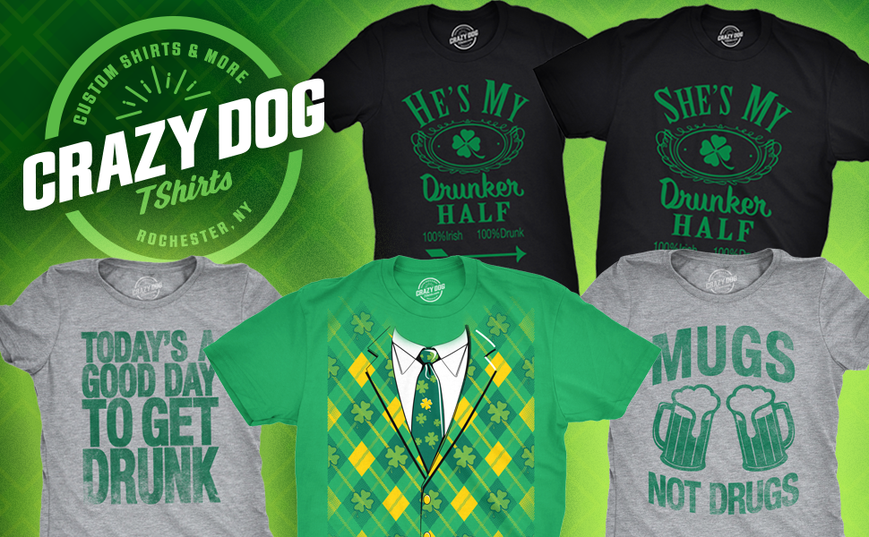 Funny St Paddy's Day Parade Tees