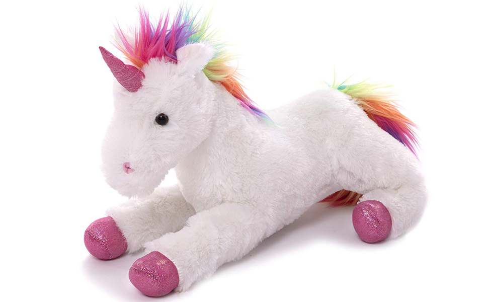 Unicorn gift for kids adorable Valentine day babies child children infant plush stuffed toys baby